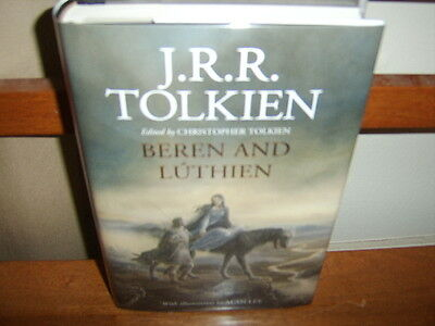 J R R  Tolkien  Beren And Luthien   Signed 1St Hc Dj  Illustrated   Silmarillion