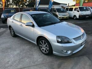 2008 Mitsubishi 380 DB Series III Platinum Edition Sedan 4dr Spts Auto 5sp 3.8i Silver Bass Hill Bankstown Area Preview