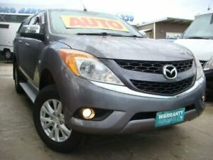2012 Mazda BT-50 UP0YF1 XT 4x2 Hi-Rider Grey 6 Speed Sports Automatic Utility Enfield Port Adelaide Area Preview
