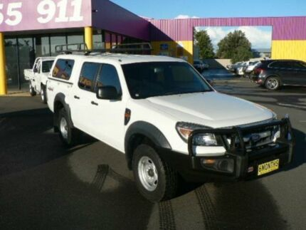 2011 Ford Ranger PK XL (4x4) White 5 Speed Manual Dual Cab Pick-up