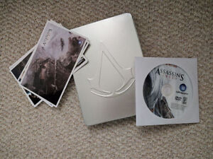 Assasins Creed Promo Disc and Post Cards