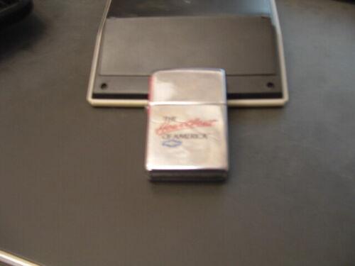 Heartbeat of America cigarette lighter Zippo made in USA CHEVY CHEVROLET TRI 5