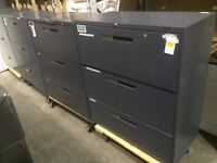 Used 3 Drawer filing Cabinets - Starting at $149.00