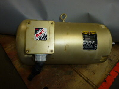 10hp Baldor 1770 Rpm 3ph 215tc General Purpose Motor Vem3714t