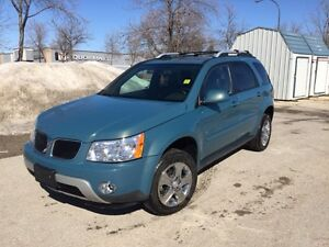 **2008 Pontiac Torrent SPORT AWD, LOW KM/LEATHER/SUNROOF $7995**
