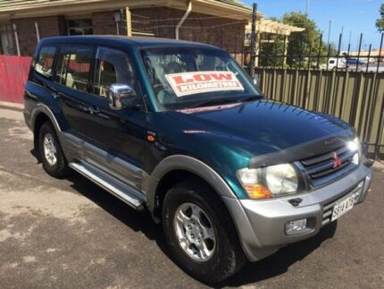 2000 Mitsubishi Pajero NM Exceed Blue 5 Speed Sports Automatic Wagon Christies Beach Morphett Vale Area Preview