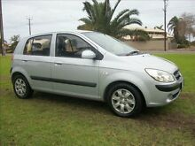 2008 Hyundai Getz TB MY09 S 5 Speed Manual Hatchback Alberton Port Adelaide Area Preview