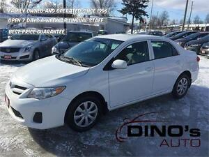 2011 Toyota Corolla CE | $46 Weekly *OAC $0 Down / Auto / A/C