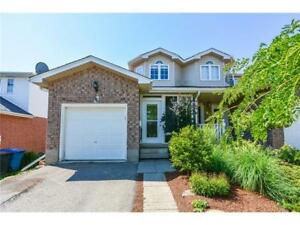 House for Rent in Guelph East End (Available Dec 1st,2017)