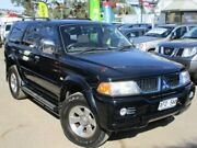 2005 Mitsubishi Challenger PA MY05 LS Black 4 Speed Automatic Wagon Gepps Cross Port Adelaide Area Preview