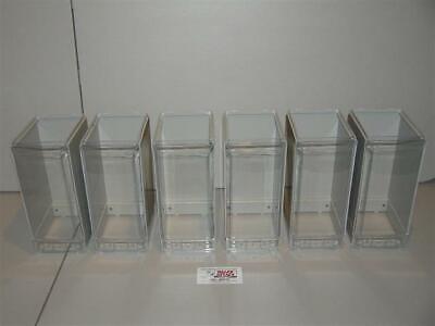 6 Vendstar 3000 Bulk Candy Vending Machine Candy Cansiter Lens Wraps New