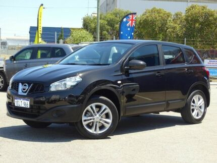 2014 Nissan Dualis J10 MY13 TI-L (4x2) Black 6 Speed CVT Auto Sequential Wagon