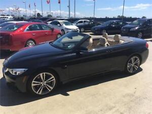 2014 BMW 4 Series 435i Convertible M package low km's