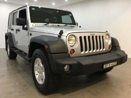 2008 Jeep Wrangler JK Unlimited Sport Silver 6 Speed Manual Softtop Blacktown Blacktown Area Preview