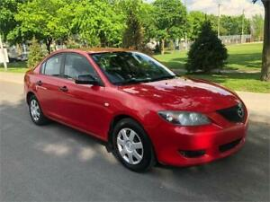 2005  MAZDA 3 , AUTOMATIQUE , 2.0 LITRES ,AIR CLIMATISE, 149.000