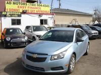 2011 Chevrolet Cruze AUTO LOW KMS 19K-100% APPROVED FINANCING