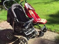 3-in-1 attractive bundle offer Push Chair+Travel Buggy+Travel Cot (not sold separately)