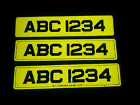 NUMBER PLATES MADE .. NO TEXTS PLEASE ! .. MADE SAME DAY .. £20 ..