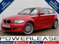 2008 58 BMW 1 SERIES 1.6 116I M SPORT 3D 121 BHP