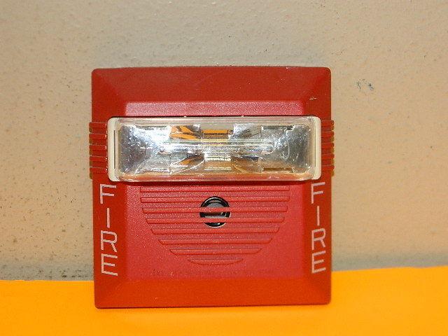 WHEELOCK Exceder HNR FIRE ALARM HORN RED Wall  12//24 vdc