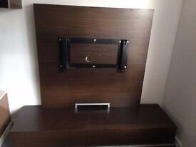 Solid Wood TV Entertainment Modular Wall Unit