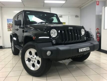 2014 Jeep Wrangler JK MY13 Overland (4x4) Black 5 Speed Automatic Softtop