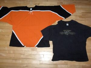 HARLEY DAVIDSON Size XXXX-Large T-Shirt and Hockey Jersey