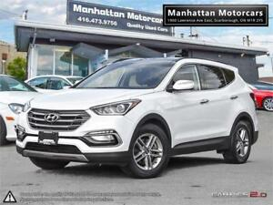 2017 HYUNDAI SANTA FE SPORT LUXURY AWD - PANO|LEATHER|WARRANTY