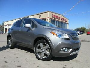 2013 Buick Encore AWD, ALLOYS, CAMERA, LOADED, 62K!