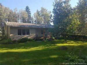 Private 7 Acres & 1328 sq ft Bungalow in Caroline