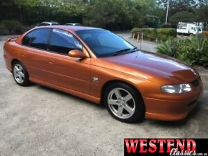 1999 Holden Commodore Vtii SS Orange 4 Speed Automatic Sedan Lisarow Gosford Area Preview