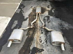 Mustang Cat Back Exhaust new