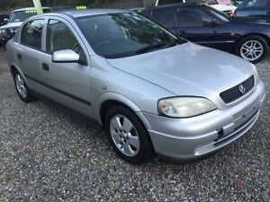 2002 Holden Astra TS CD Silver 4 Speed Automatic Sedan Jewells Lake Macquarie Area Preview