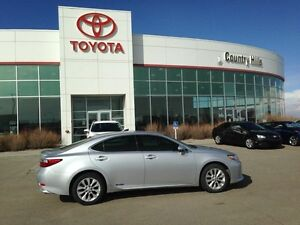 2013 Lexus ES 300h Leather, Navigation, 3M