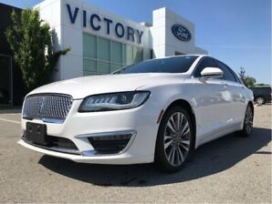 2017 Lincoln MKZ Reserve, 2.0L AWD, Leather, Nav, BLIS, Cooled Sea
