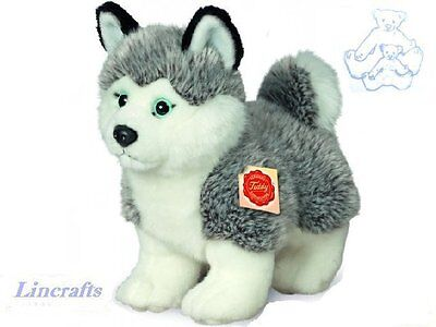 Husky Standing Plush Soft Toy by Teddy Hermann. Sold by Lincrafts. 92701. SALE