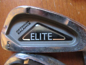 FOUR IRONS AND ONE PUTTER: Men's Right Hand, Spalding Elite, #5 Stratford Kitchener Area image 3