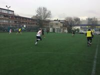 Play football in BATTERSEA, weekend 7-a-side game. Need new players. Everyone welcome