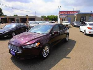 2013 FORD FUSION SE 4 YL AMAZING SPACIOUS GAS SAVER EASY FINANCE