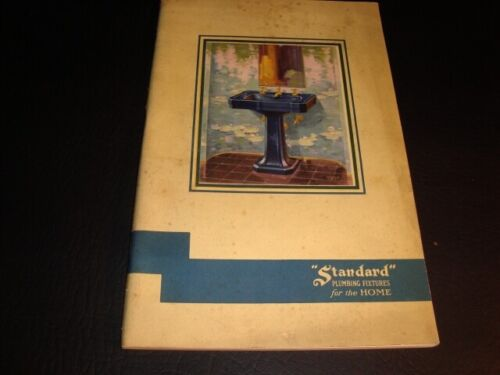 Circa 1930s American Standard Plumbing Fixtures Catalog
