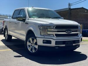 2019 Ford F150 CrewCab Platinum White 10 Speed Utility Fairlight Manly Area Preview