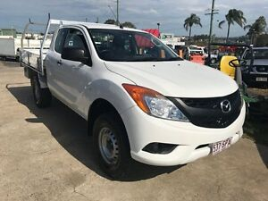 2012 Mazda BT-50 XT (4x2) White 6 Speed Manual Extracab Loganholme Logan Area Preview