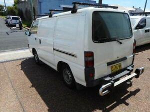 2010 Mitsubishi Express SJ MY10 SWB White 5 Speed Manual Van Maryville Newcastle Area Preview
