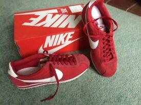 Nike retro trainers- Classic Cortez Nylon- UK Size 8
