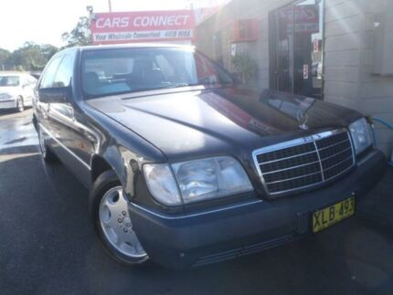 1992 Mercedes-Benz 300 W140 SEL Black 4 Speed Automatic Sedan Edgeworth Lake Macquarie Area Preview