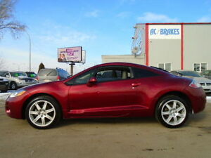 2007 Mitsubishi Eclipse GT-P-V6-LEATHER-SUNROOF-Coupe-6 SPEED