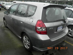 2007 HONDA FIT FOR PARTS