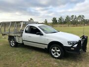 2006 Ford Falcon BF RTV White 4 Speed Auto Seq Sportshift Cab Chassis Applethorpe Southern Downs Preview