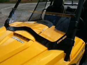 Half windshield for Can-am Commander