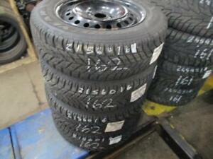 215/60 R16 GOODYEAR ULTRA GRIP WINTER TIRES USED SNOW TIRES (SET OF 4 - $550.00) - APPROX. 75% TREAD